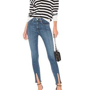Rag & Bone Yuki Skinny Jeans In Bond Bar